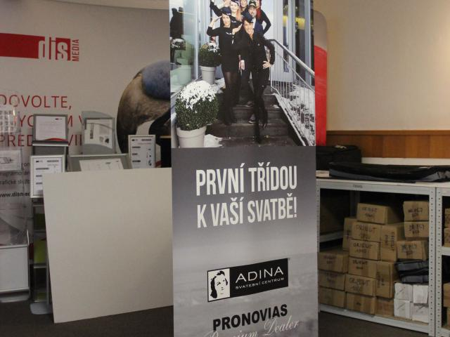 Roll up banner Orient 9
